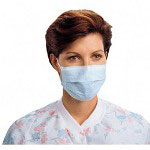 K-C Professional® Tecnol Procedure Mask with Pleat and Earloops, Latex Free, 50CT, Blue