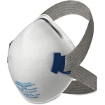 Jackson Safety Particulate Respirator, Comfort Straps, N95, 20/BX, WE