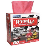 WypAll® Red Shop Towels - 80 count