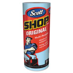 Scott® Shop Towels, Roll, 10 2/5 x 11, Blue, 55/Roll, 12/Carton