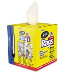 Kimberly-Clark SCOTT Rags in a Box, 10 x 13, White, 200/Box