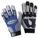 Kleenguard® G50 Large Mechanics Utility Gloves, Blue/Gray