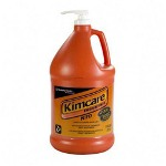 Kimcare NTO Hand Cleaner w/Grit, Orange, 1gal Pump Bottle
