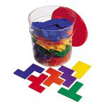 Learning Resources Rainbow Premiere Pentominoes