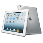 Kensington® Protective Back Cover for iPad2 and iPad 3rdGen, Clear