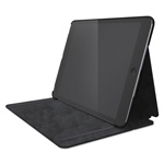 Kensington Hard Folio Case and Adjustable Stand for iPad 5, Slate Gray