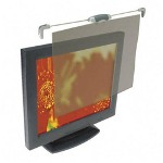 "Kensington Privacy Filter for 17"" Flat Panel LCD Monitor, Top Mount, Antiglare, Graphite"