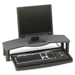 Kensington Comfort Desktop Keyboard Drawer with SmartFit™ System, Black/Gray