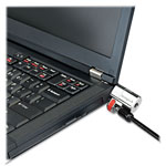 Acco ClickSafe Keyed Laptop Lock, 5ft Cable, Black