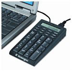 Kensington® Notebook Keypad/Calculator with USB Hub