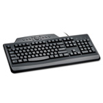 Kensington Pro Fit Wired Media Keyboard, Black