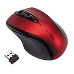 Kensington Mid-Size Wireless Mouse, Scarlet Red