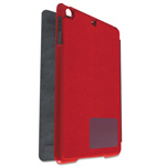 Kensington Hard Folio Case and Adjustable Stand for iPad 5, Red