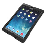 Daytimer BlackBelt 1st Degree Rugged Case, for iPad Air, Black