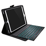 Kensington KeyFolio Pro Folio with Backlit Keyboard for iPad Air, Black