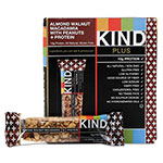 Kind Plus Nutrition Boost Bar, Almond Walnut Macadamia/Protein, 1.4 oz Bar, 12/Box