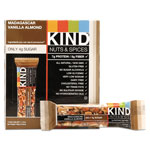 Kind Nuts and Spices Bar, Madagascar Vanilla/Almond, 1.4 oz, 12/Box