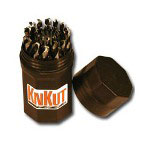 KnKut 29 Piece Fractional Jobber Length Drill Bit Buddy Set