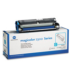 QMS 1710517004 Toner, 1500 Page-Yield, Cyan