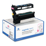 QMS 1710580003 Toner, 6000 Page-Yield, Magenta