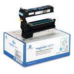QMS 1710580004 Toner, 6000 Page-Yield, Cyan
