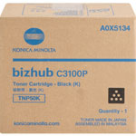 Minolta Toner Cartridge for C3100P, 6000 Page Yield, Black