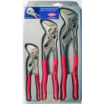 Grip On 3-Piece Pliers Wrench Set