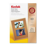 Kodak Photo Paper, Gloss, 4 x 6, 60 Sheets