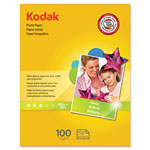 Kodak Photo Paper, Gloss, 8.5x11, 100 Sheets