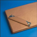 "Box Partners 24"" x 36"" 50# Basis Weight Kraft Paper Sheets"