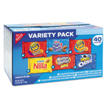 Nabisco Mini Snack Packs, 1 oz, Variety Pack, 40 per Carton