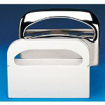 Krystal Toilet Seat Cover Dispensers White Plastic