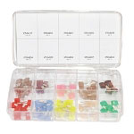 K Tool International 75 Piece Mini Fuse Kit