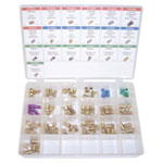 K Tool International 95 Piece Brake Line Fittings Assortment