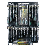 K Tool International Screwdriver Display Board