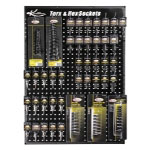 K Tool International USA Torx and Hex Bit Display Board