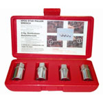 "K Tool International 4 Piece 1/2"" Drive Fractional Stud Remover Set"