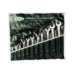 K Tool International 11 Piece SAE Combination Wrench Set Bag