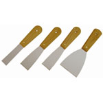 K Tool International 4-PIECE SCRAPER/PUTTY KNIFE SET