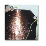 "K Tool International 50"" x 80"" Pyro Welding Blanket"