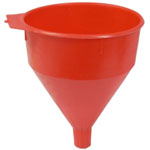 K Tool International 6-QT Funnel Safety Red with Screen
