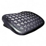 "Kantek Deluxe Foot Rest, 19""x14""x4 1/2"", Black"