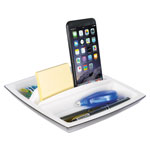 Kantek Desk Top Organizer And Tablet/phone Holder, Plastic, 8 1/4 X 8 1/4 X 2 3/4