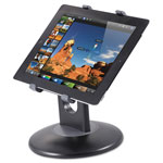 Kantek Stand for 7-10 Inch Tablets, Swivel Base, Plastic, Black