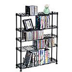 Atlantic 5 Tier Steel Media Stand