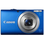 Canon PowerShot A4000 IS 16 Megapixel Digital Camera - Blue