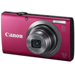 Canon PowerShot A2300 16 Megapixel Digital Camera - Red