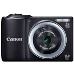 Canon PowerShot A810 16 Megapixel Digital Camera - Black
