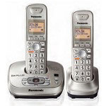 Panasonic KX-TG4022N DECT 6.0 PLUS Expandable Digital Cordless Answering System