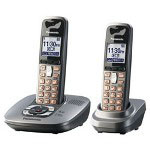 Panasonic KX-TG6432M Expandable Digital Cordless Telephone with Answering System with 2 Handsets